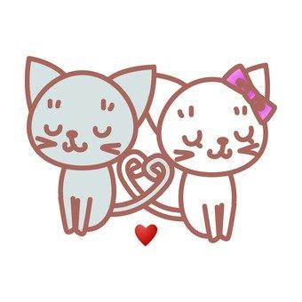 고양이 커플