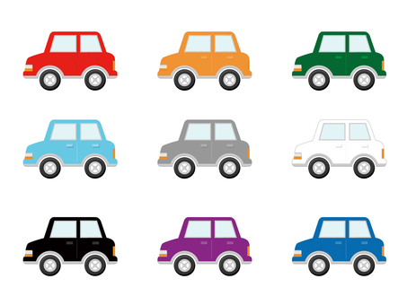 Various car icons
