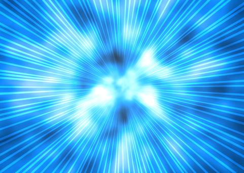 Flash background blue