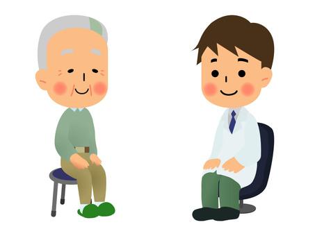 爺爺和醫生