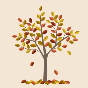 One tree of art - Autumn-Winter