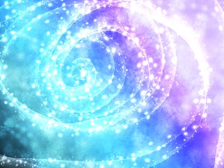 Sparkling background (blue)