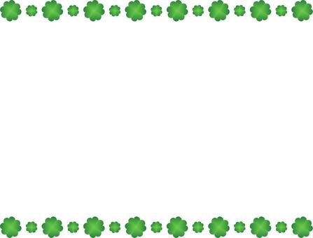 네잎 클로버 프레임