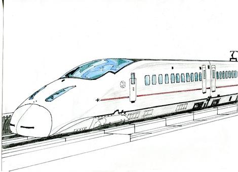 Shinkansen color