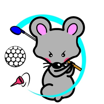 Mouse golf