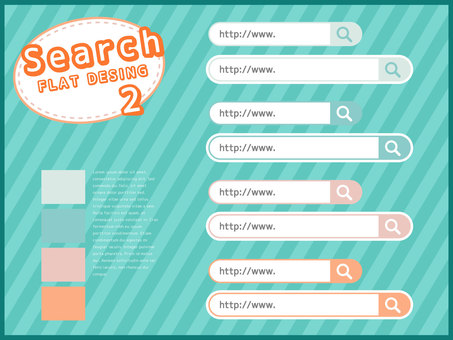 Search window material set <02>