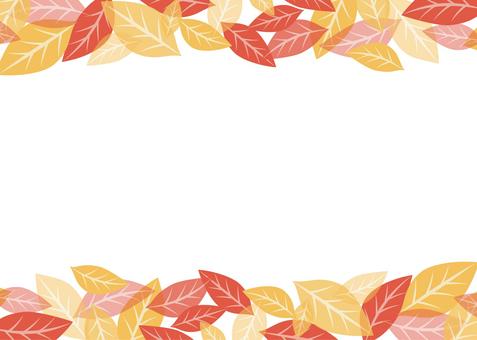 Simple leaf frame 01