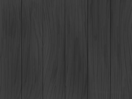Wood grain board_vertical_black