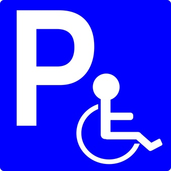 Private parking for disabled people