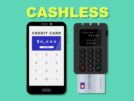 Mobile payment by credit card payment terminal
