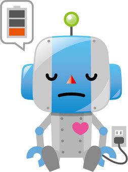 충전하는 로봇
