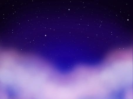밤하늘의 별 우주 텍스처 3