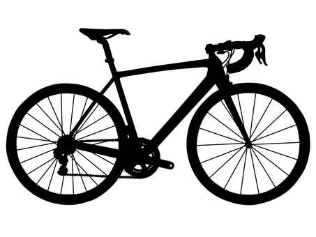 Bicycle silhouette 2