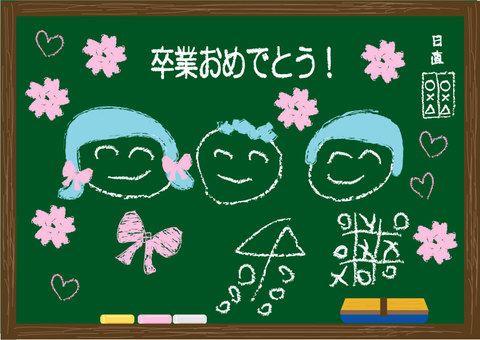Chalkboard graduation version