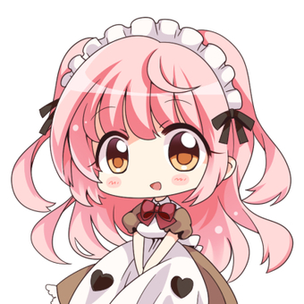 Pink hair maid (normal)
