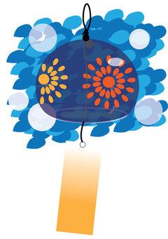 Mizukage and wind chimes A4