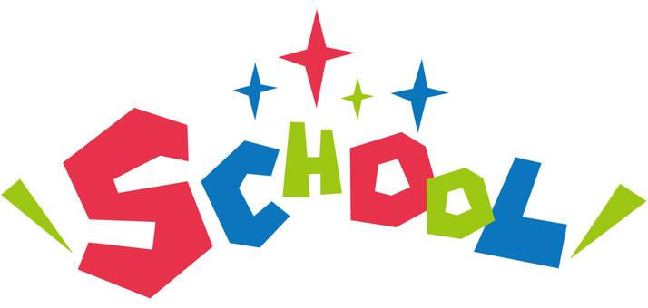 SCHOOL School ☆ School ☆ logo