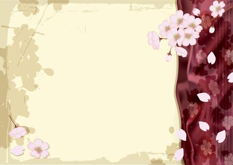 Spring cherry frame 9