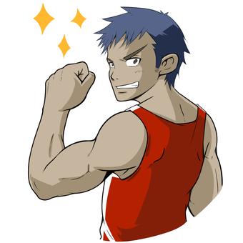 Muscle Training Boys 18