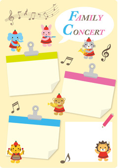 Family Concert Template