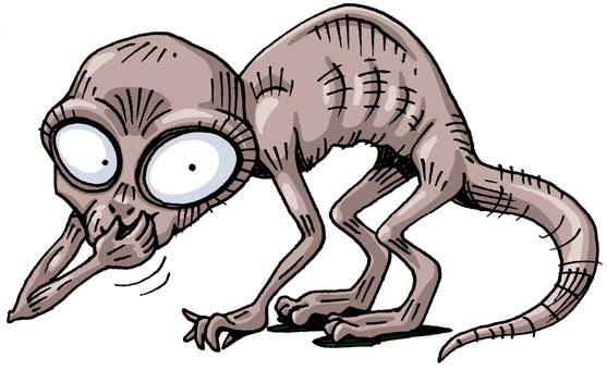 UMA alien Metepec Monster