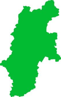 Nagano Prefecture _ Silhouette _ green