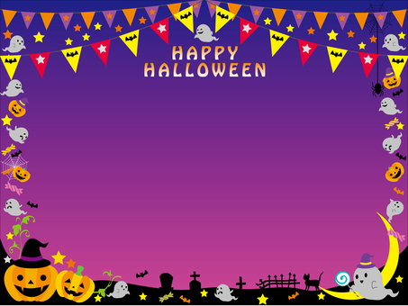 Halloween frame haunted 3 a