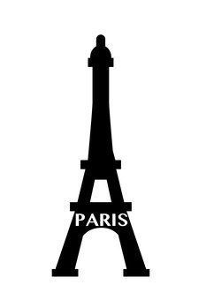 Eiffel Tower (Silhouette)