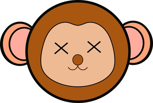 Cross eyes series 10, cross eyes monkey