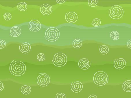 Pattern · Turtle storage small green (seamless)