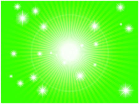 Radial light (green)