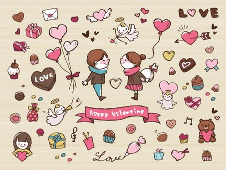 【Escrito a mano】 Valentine 1