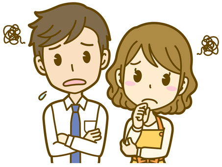 Male and female (couple): A _ suffering 02BS