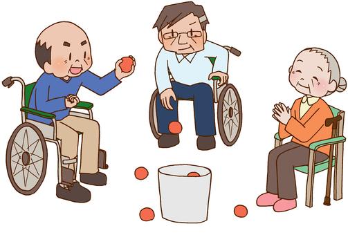 【Rehabilitation】 Recreation, elderly people
