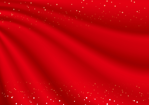 Drape-like curtain (red cloth · star)