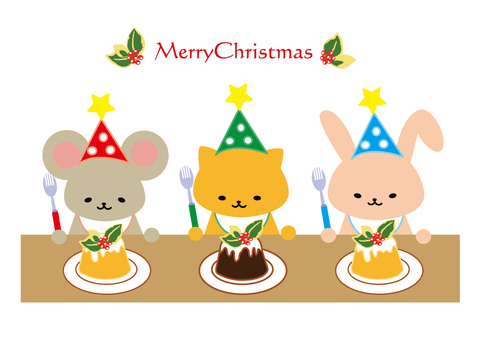 Christmas party (animals)
