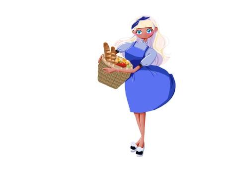 Bread girl