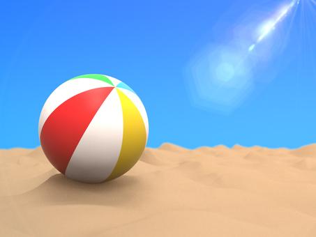Beach ball flare