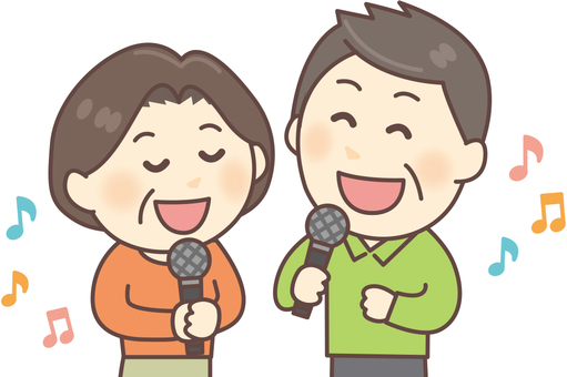 Karaoke _ middle age 01