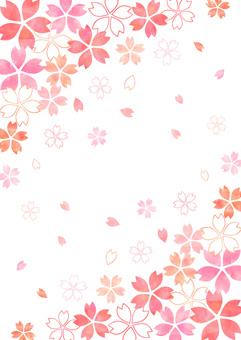 Sakura _ background _ vertical