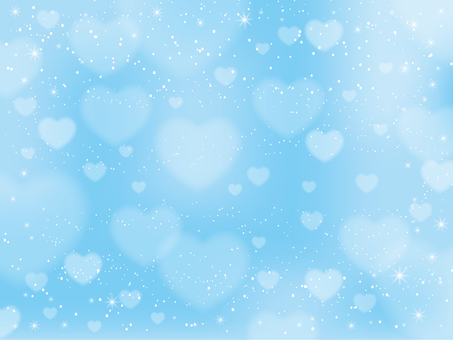 Light blue heart background