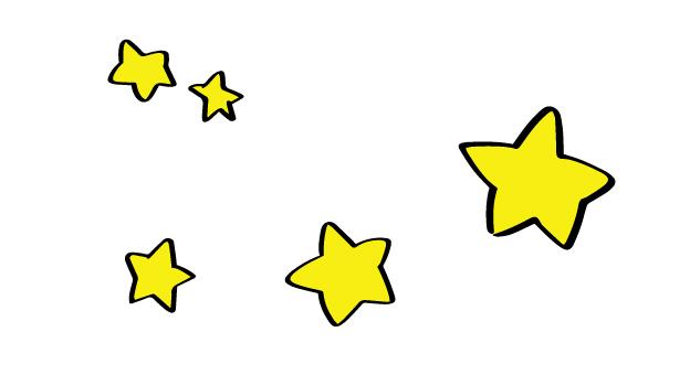Handwritten wind star