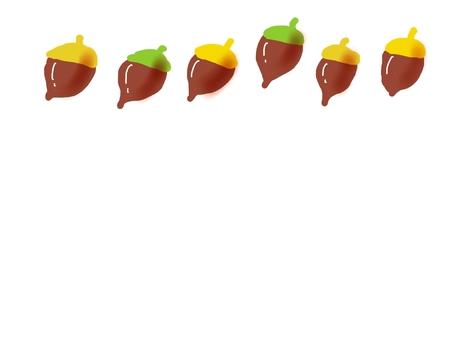 Various acorns