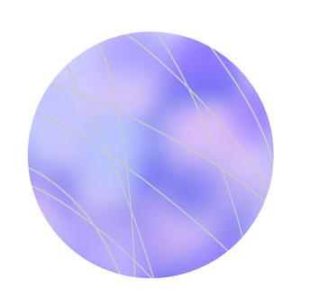 공 (블루)