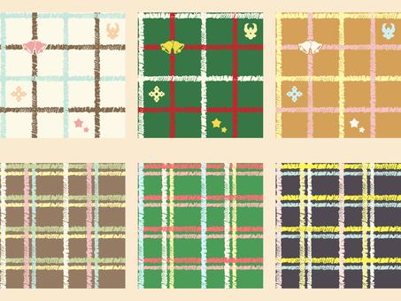 Pattern - Check pattern set