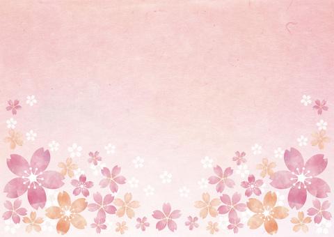 Japanese paper _ cherry frame