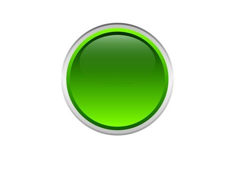 Round button (green)