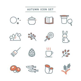 AUTUMN ICON SET