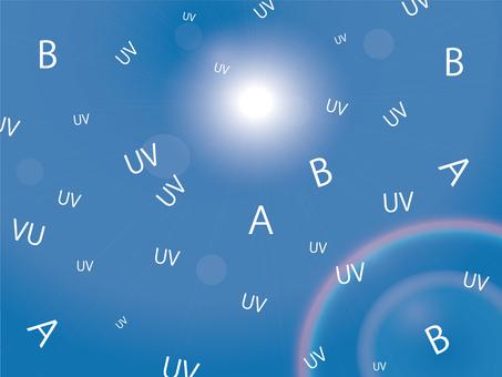 紫外線圖像