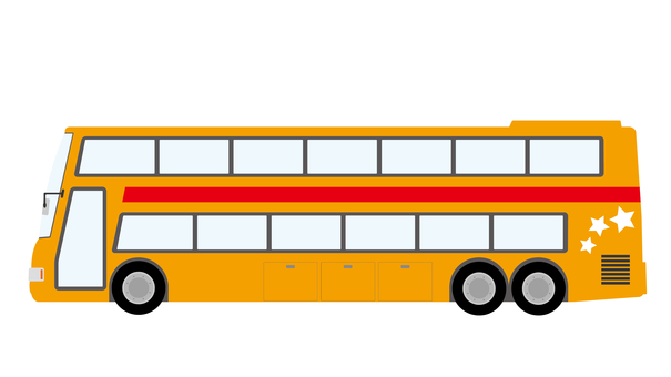 Two-story bus